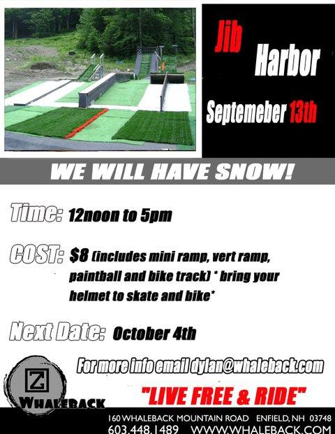 September 13th Jib Harbor