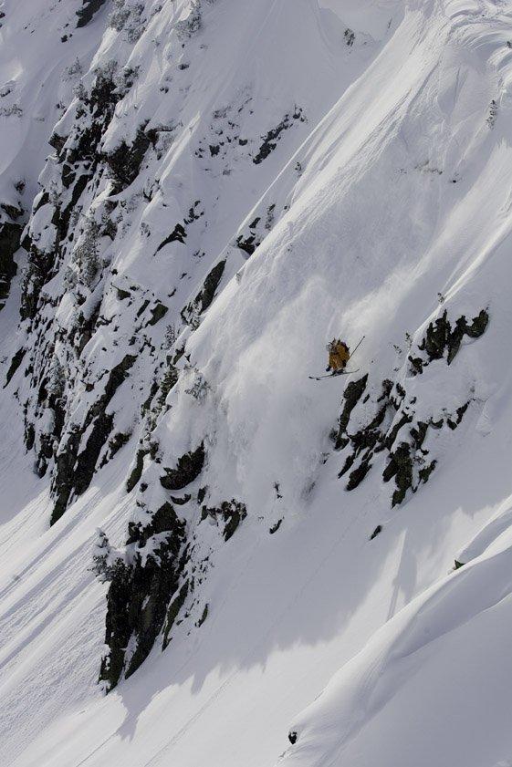 Flo Edenberger gettin some air in austria