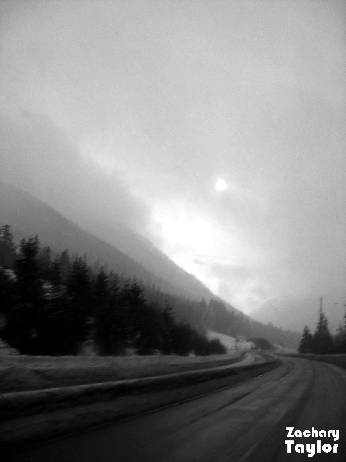 Drivin to big white