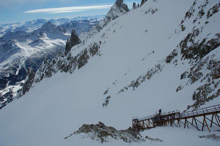 Crazy Italian ski stairs