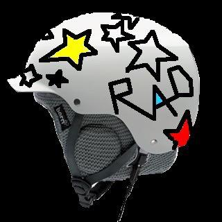 Totally rad helmet