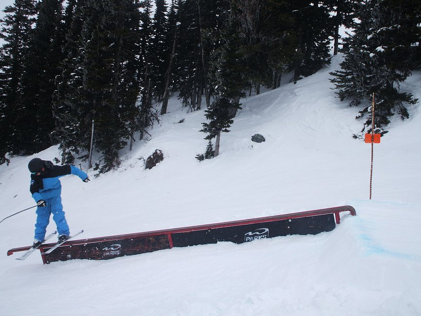 Rail at whistler
