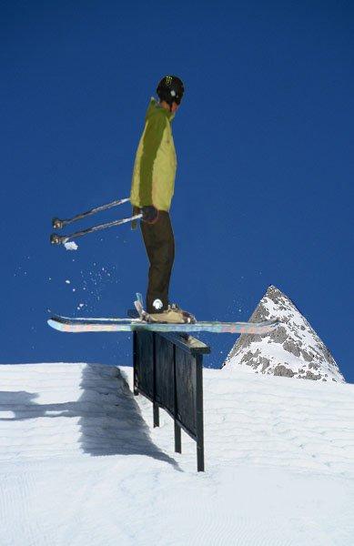 Seshing a rail