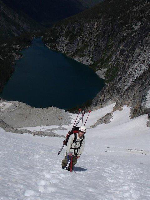 Mt.Colchuck last year July