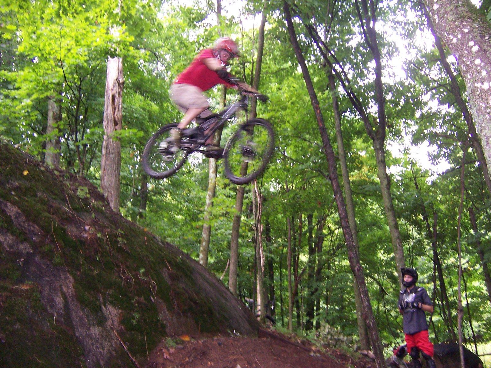 Bike drop