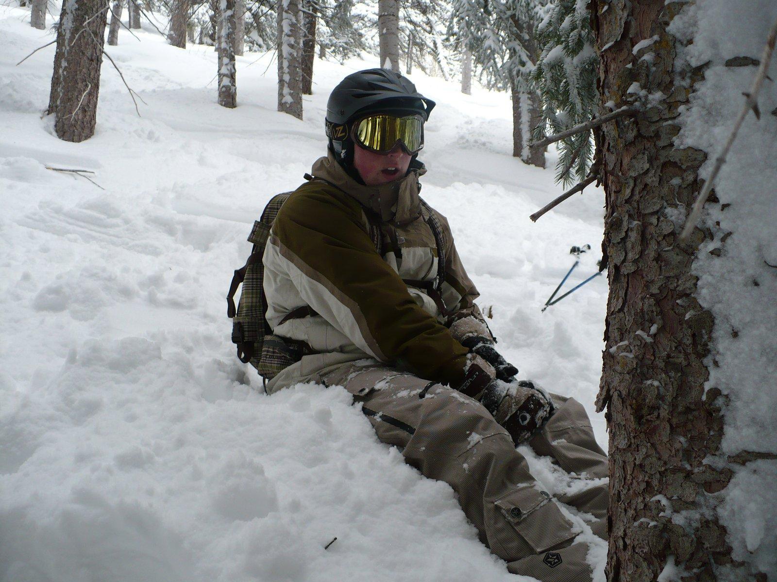 Deep snow at Vail