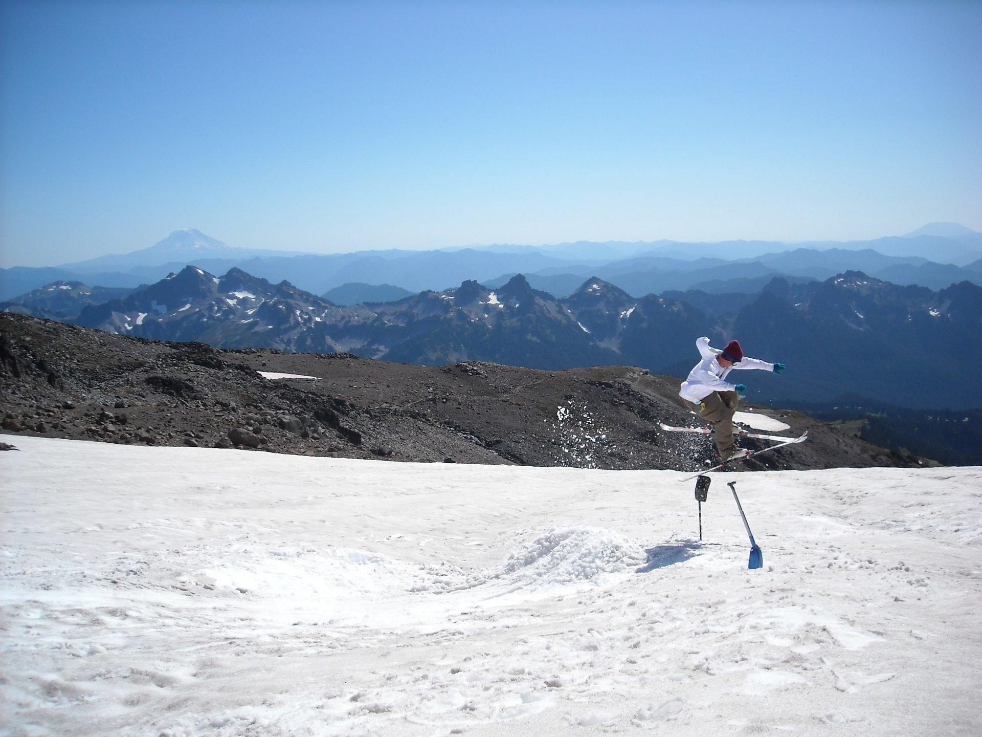 Mt. Ranier in September
