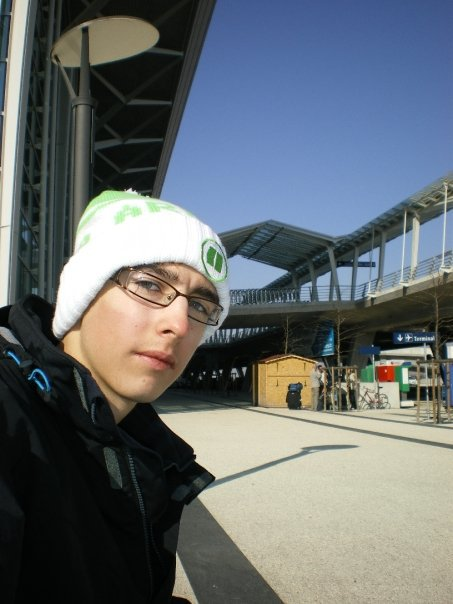 Self-Portrait at the Basel Airport