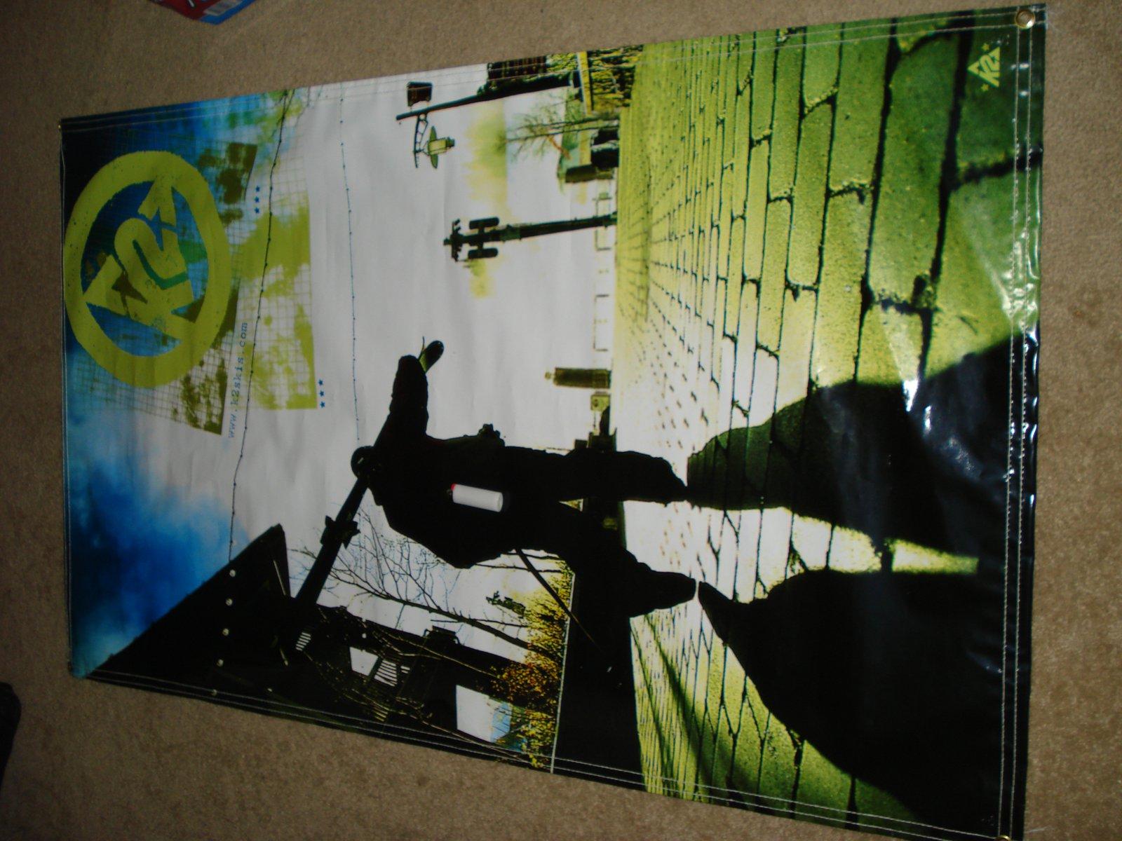 K2 banner for sale