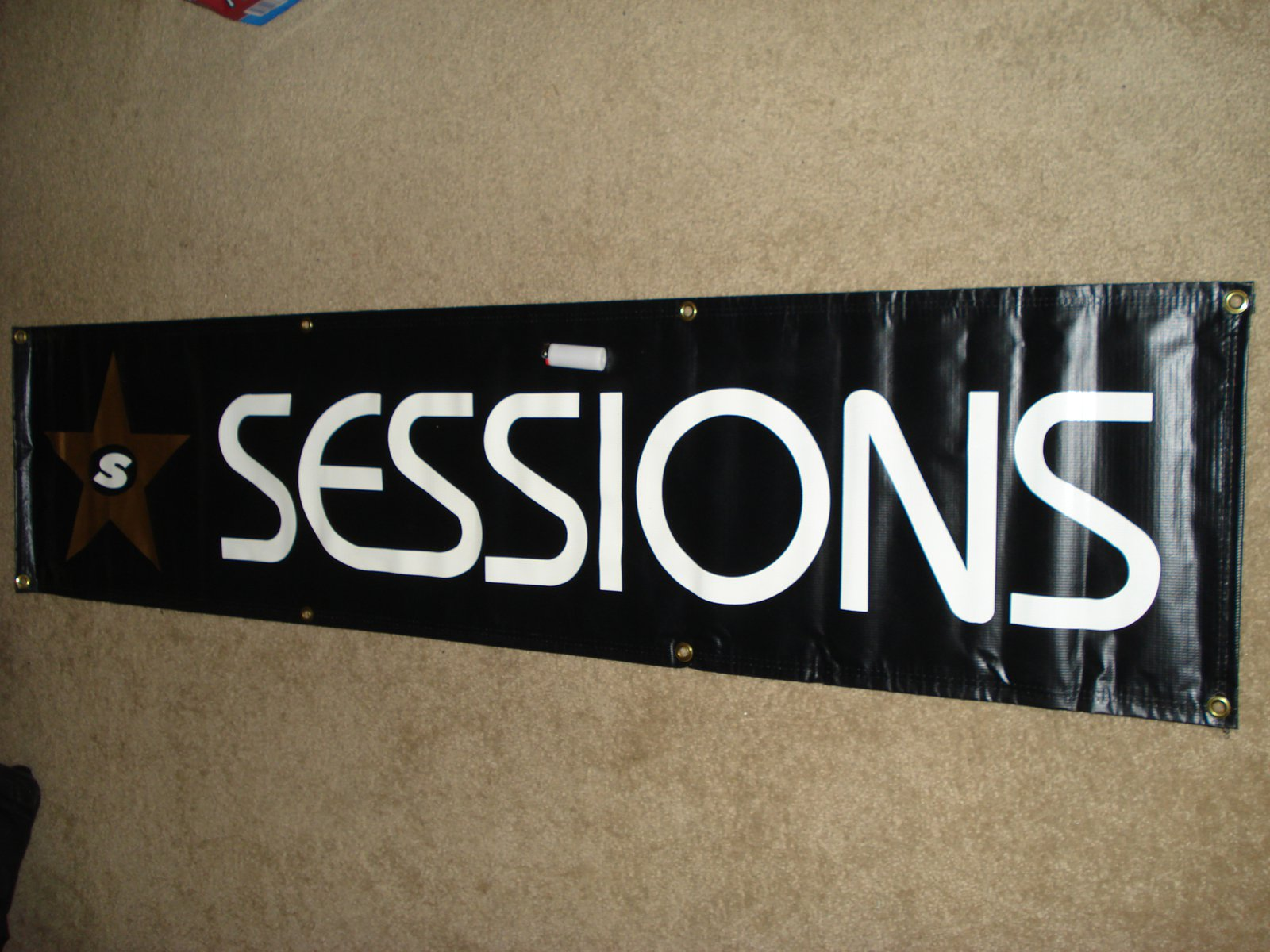Sessions banner for sale
