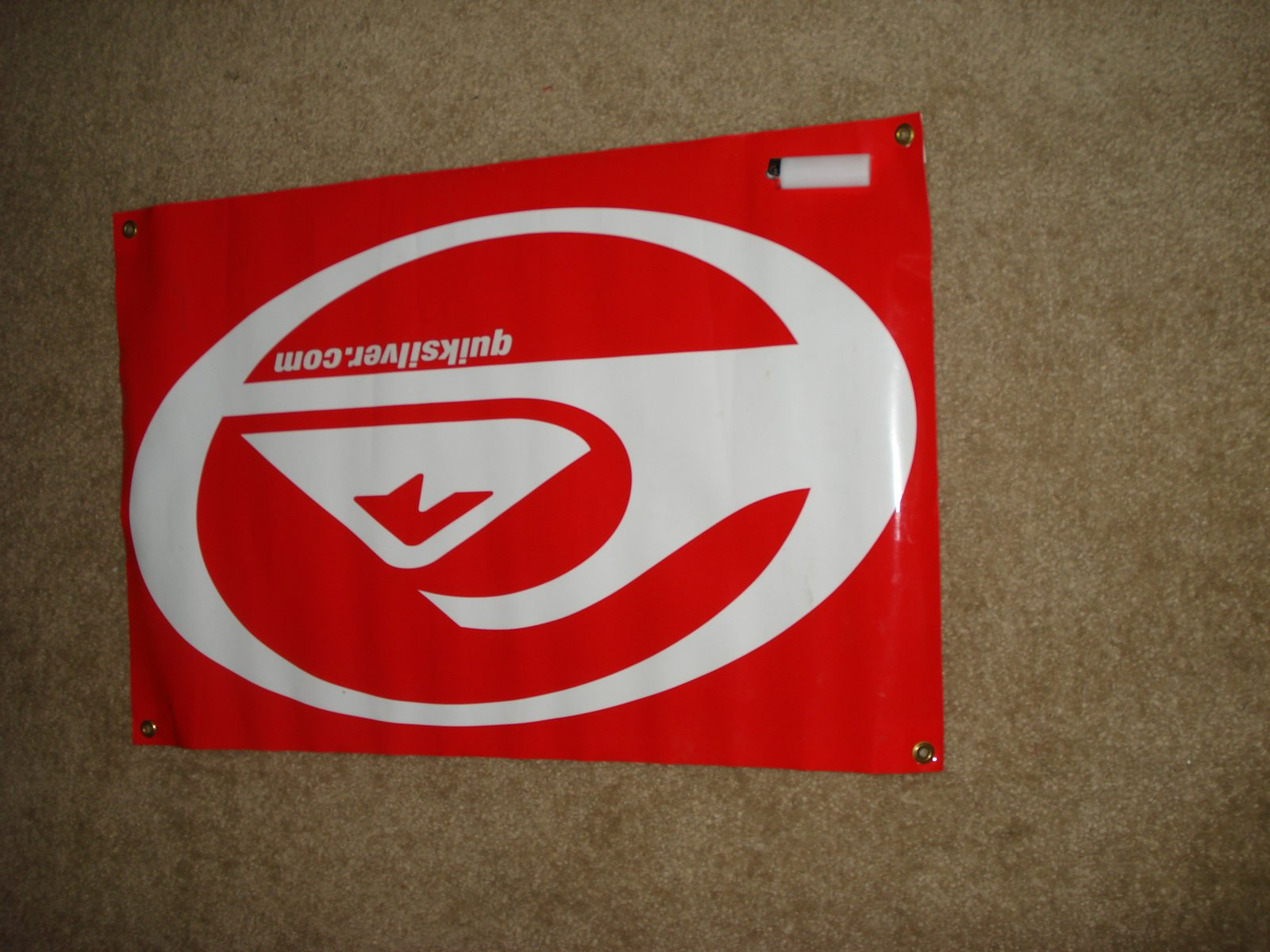 Quiksilver banner for sale