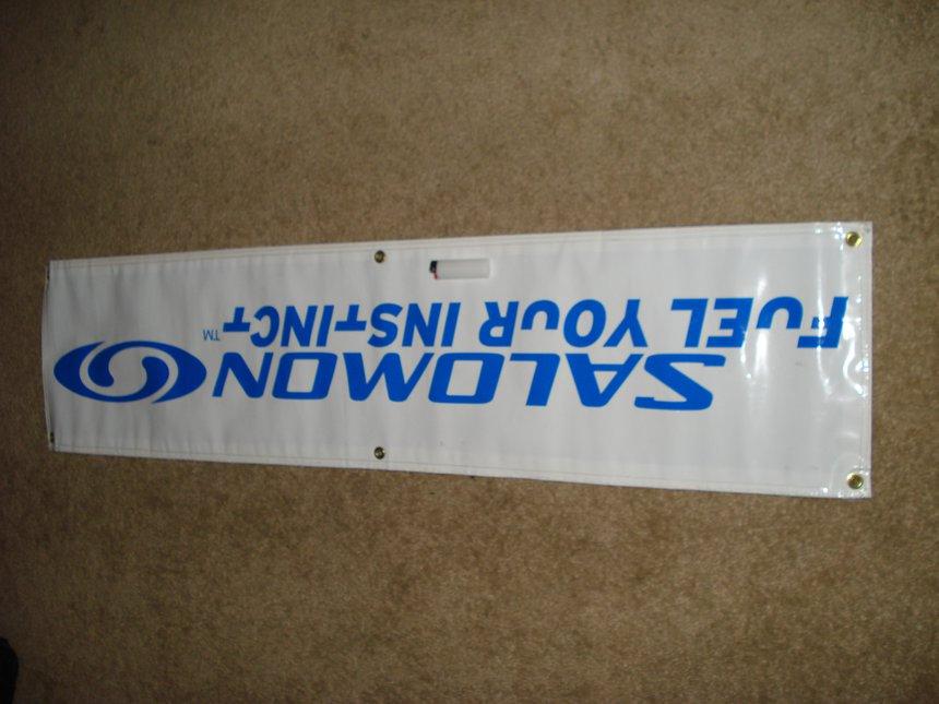 Salomon banner for sale