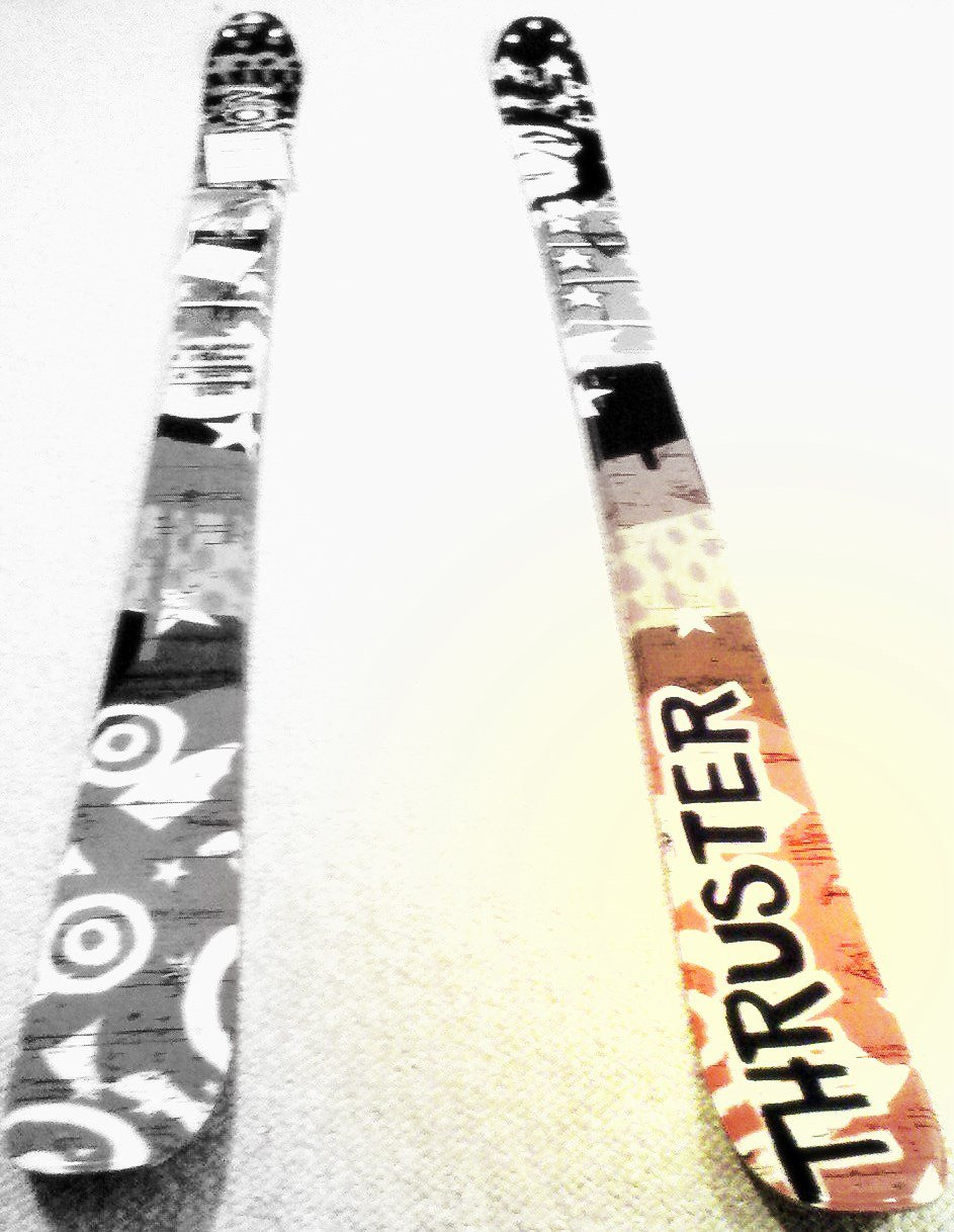 My new skis
