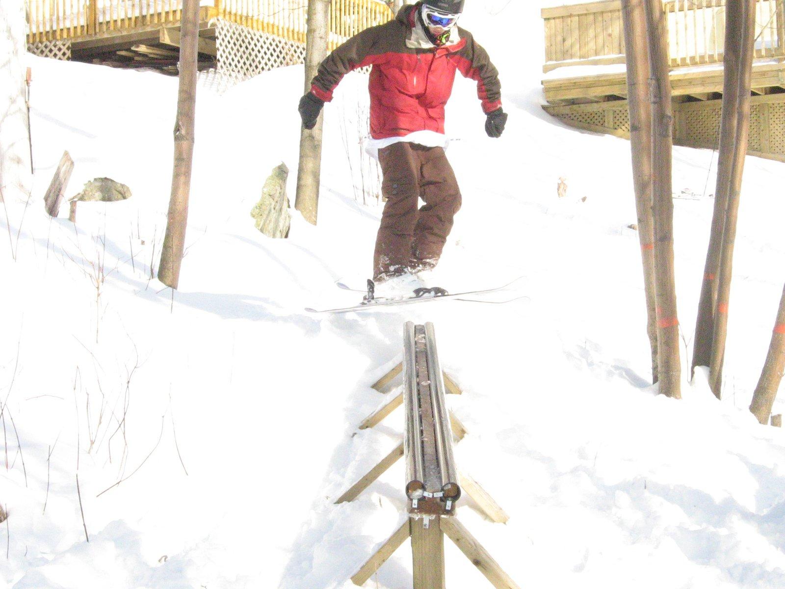 Last year on my rail