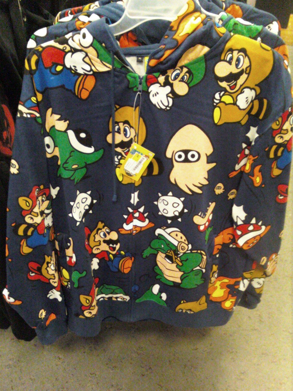 Mario hoodie
