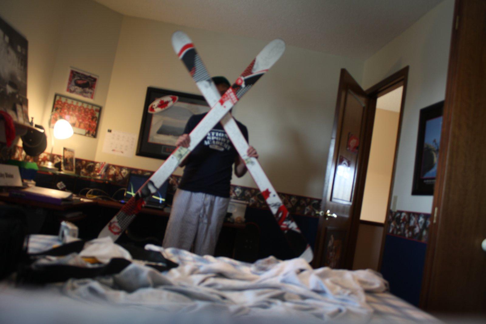 Me and skis