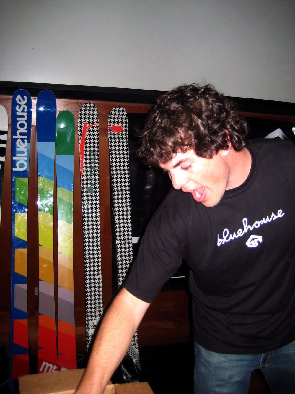 Blue House skis
