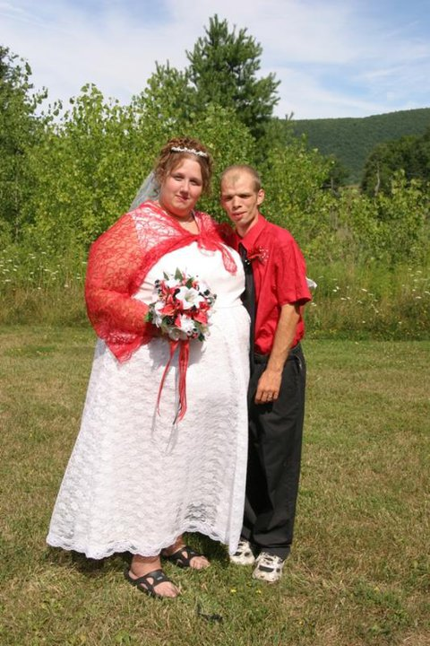 Audrey-Anne And Bart On There Weding Day