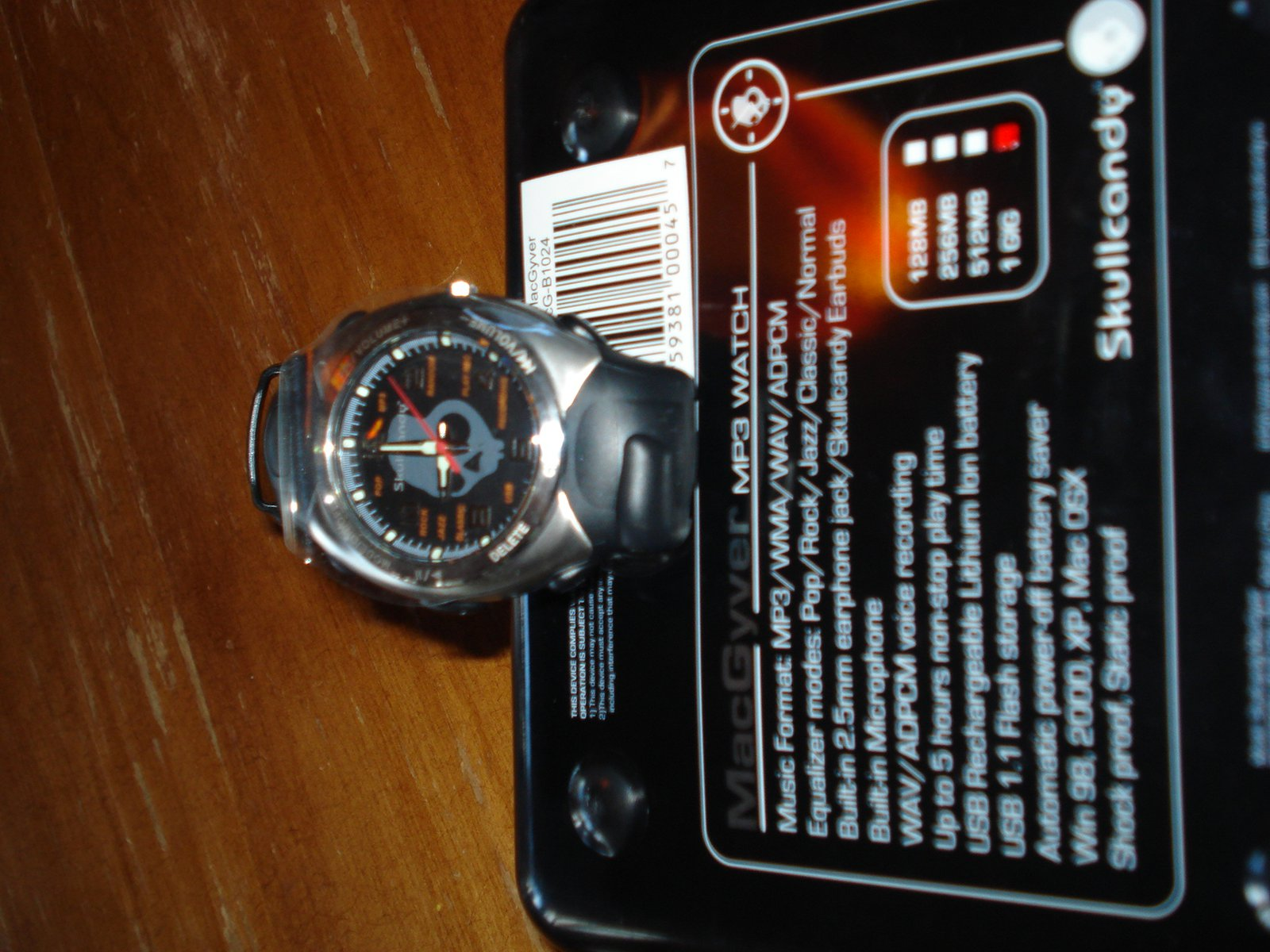 Skullcandy MP3 Watch