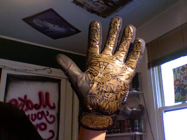 Celtek clanwear glove