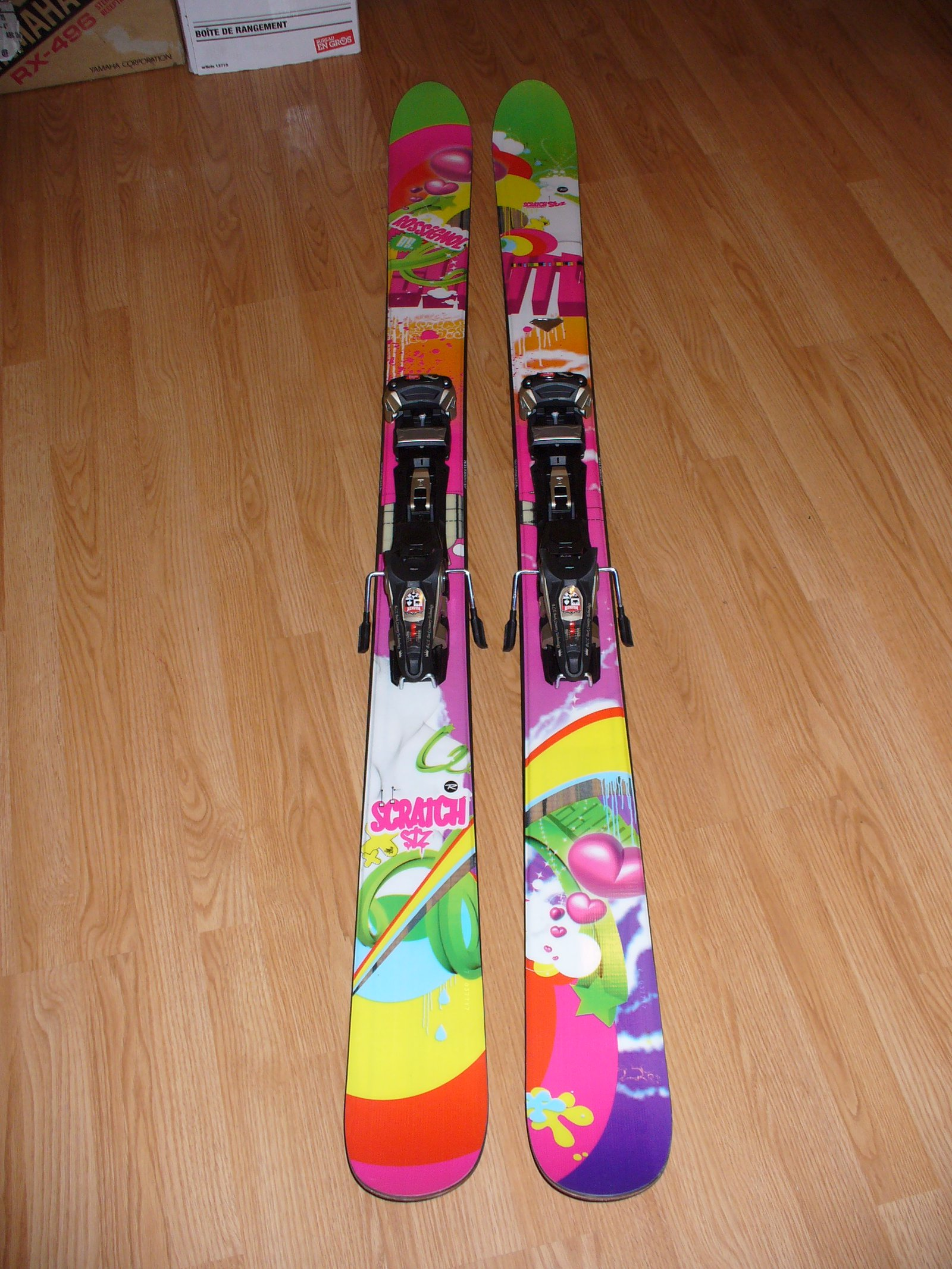 My pow skis this year