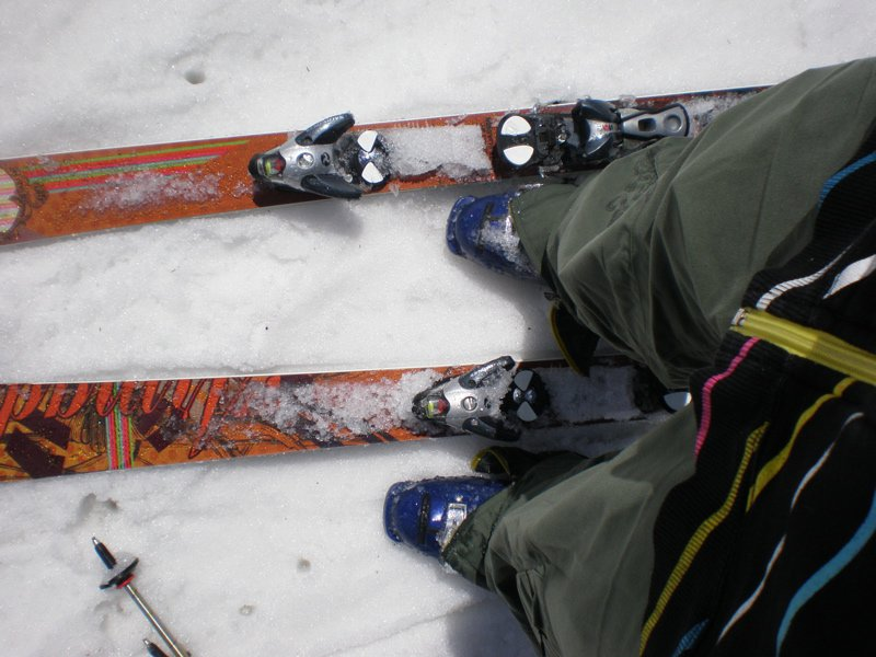 First real day using my new skis