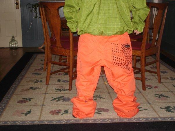 New jacket and pants