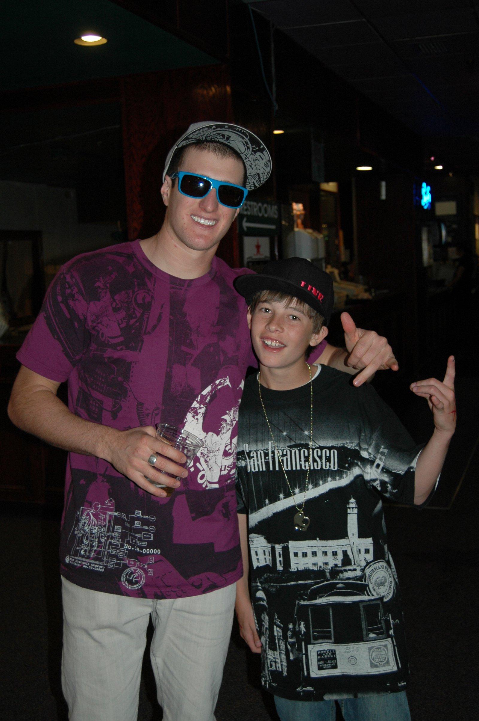 Me and Chris Benchetler