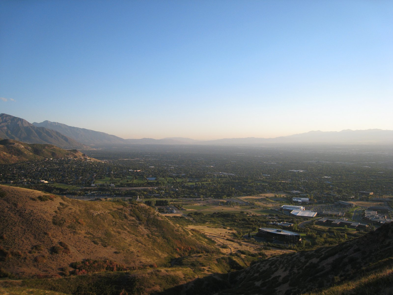 South end of the salt lake valley
