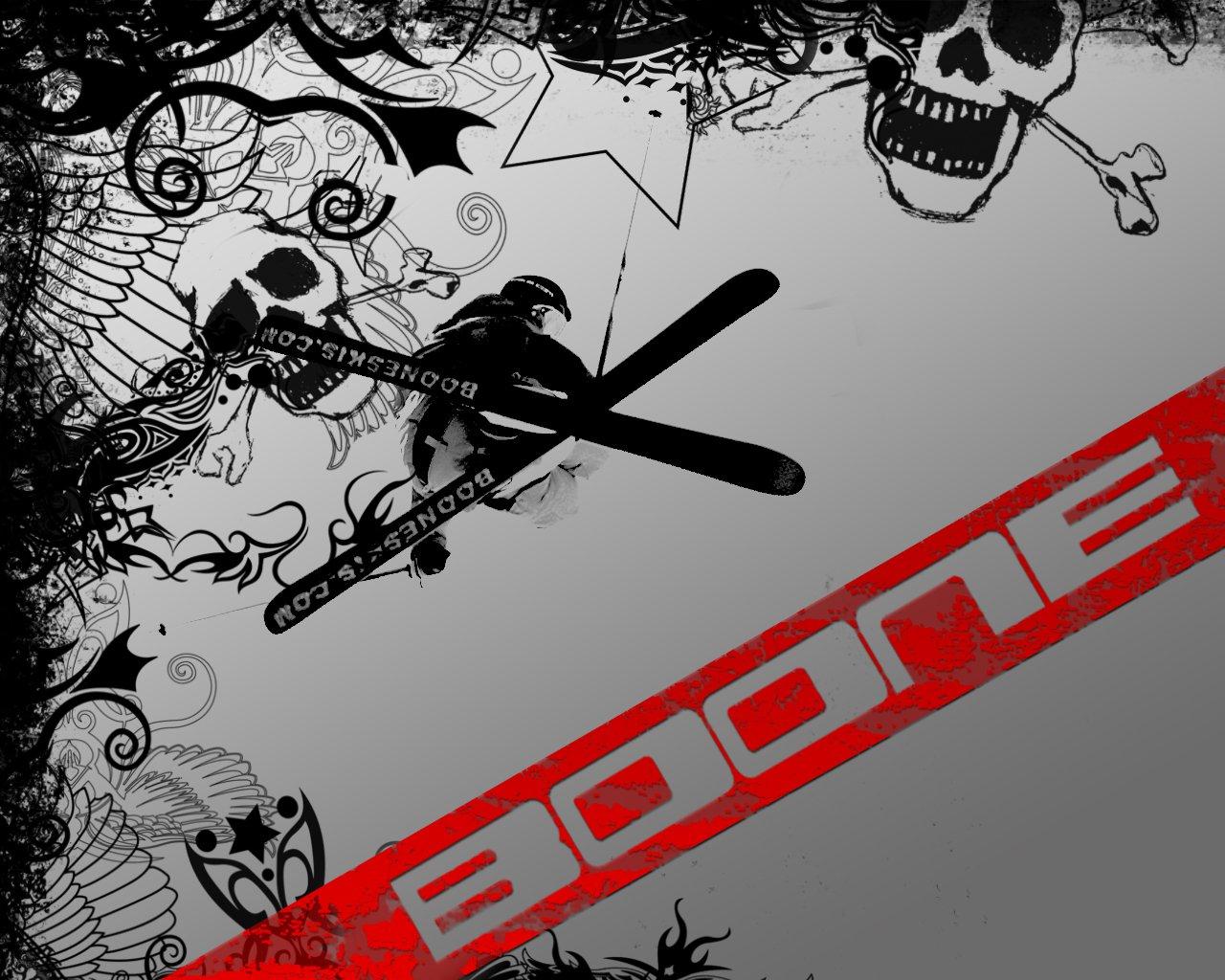 BOONE Skis - Superfreak wallpaper