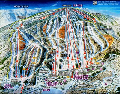Mt. snow trail map