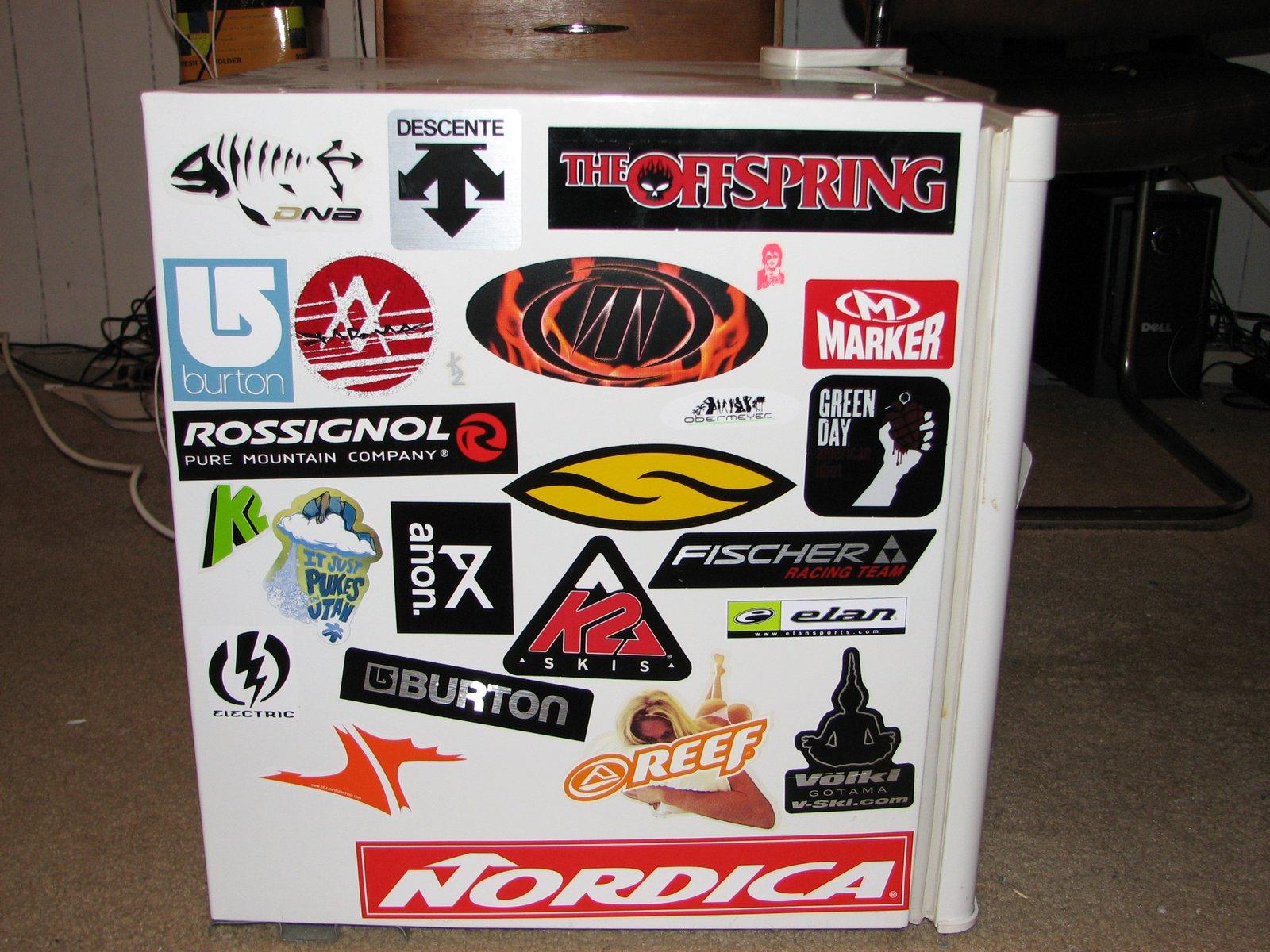 Right fridge