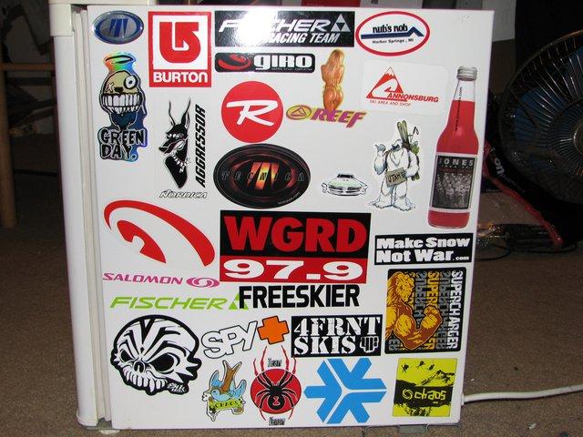 Left fridge
