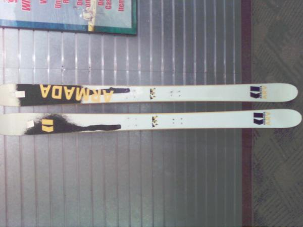 Skis after tune