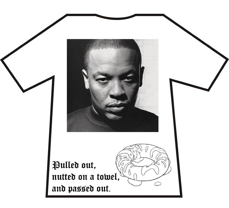 John Symms Empire Design A T Shirt With Hoodrat Shit On It Entry