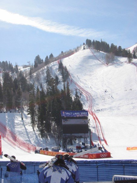 Olympics at Snowbasin