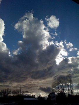 Beginning of a storm...