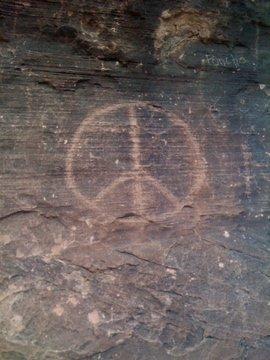 Peace rock.