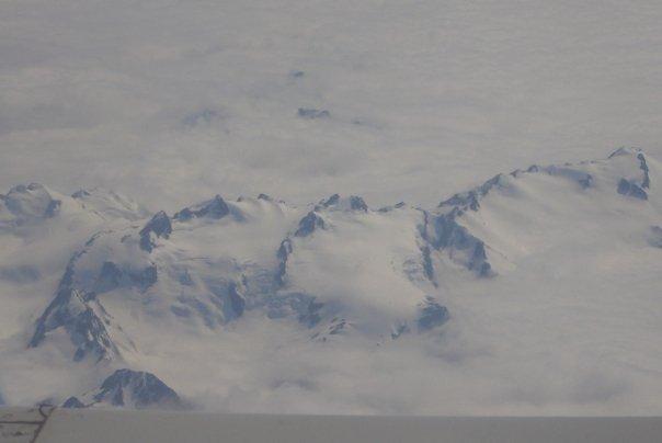 Mountain range AK