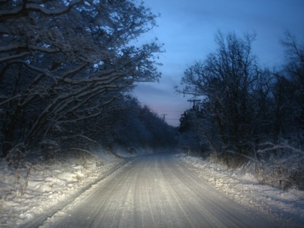 Lonely Winter Road