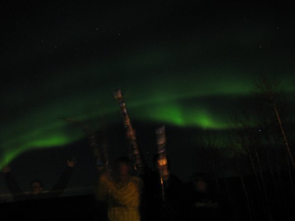Northern Lights & Wizard Staffs