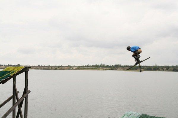 Water ramping in Estonia