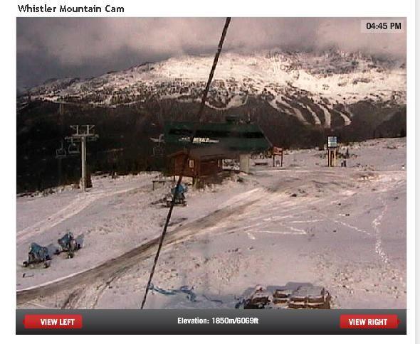 Blackcomb webcam RIGHT NOW :)