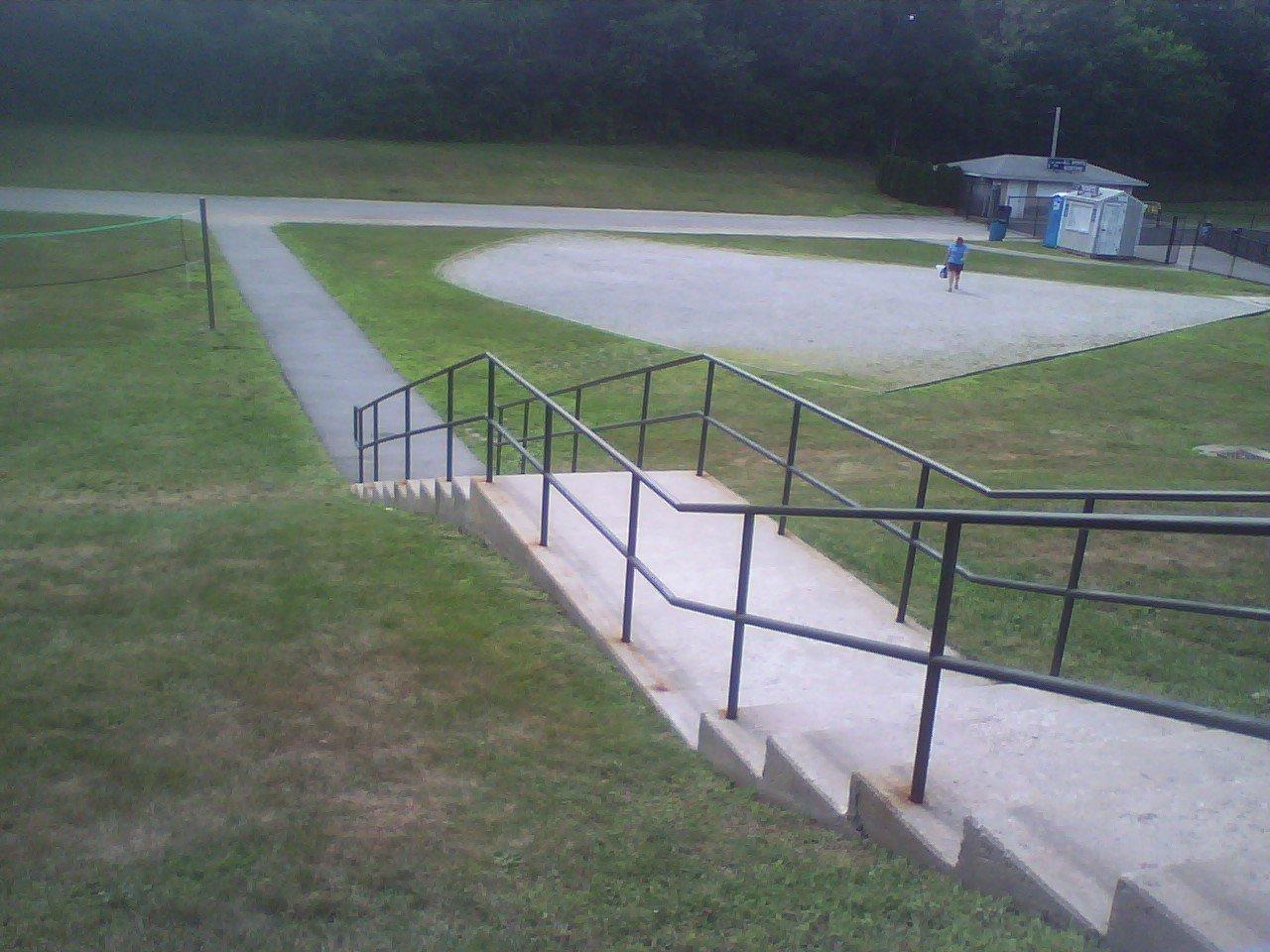 Rail at my old high school