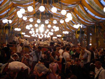 Inside tent 2