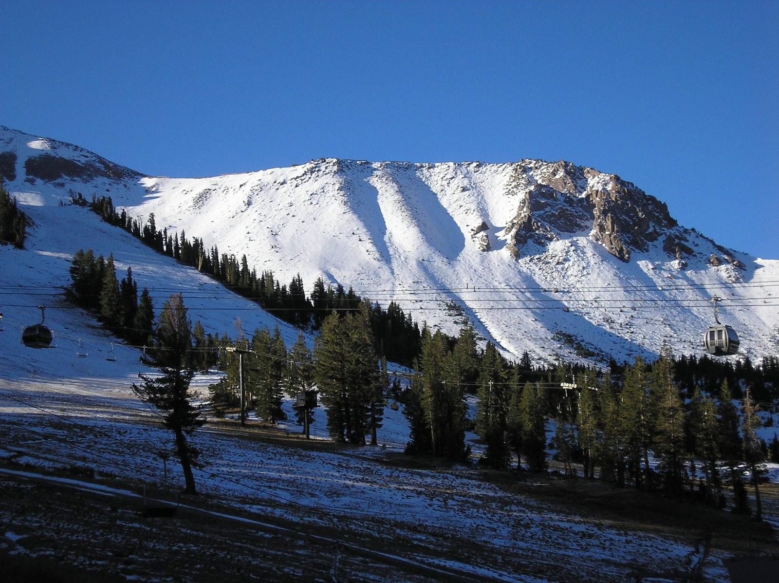 Mammoth Mountain as of 10/7/2008