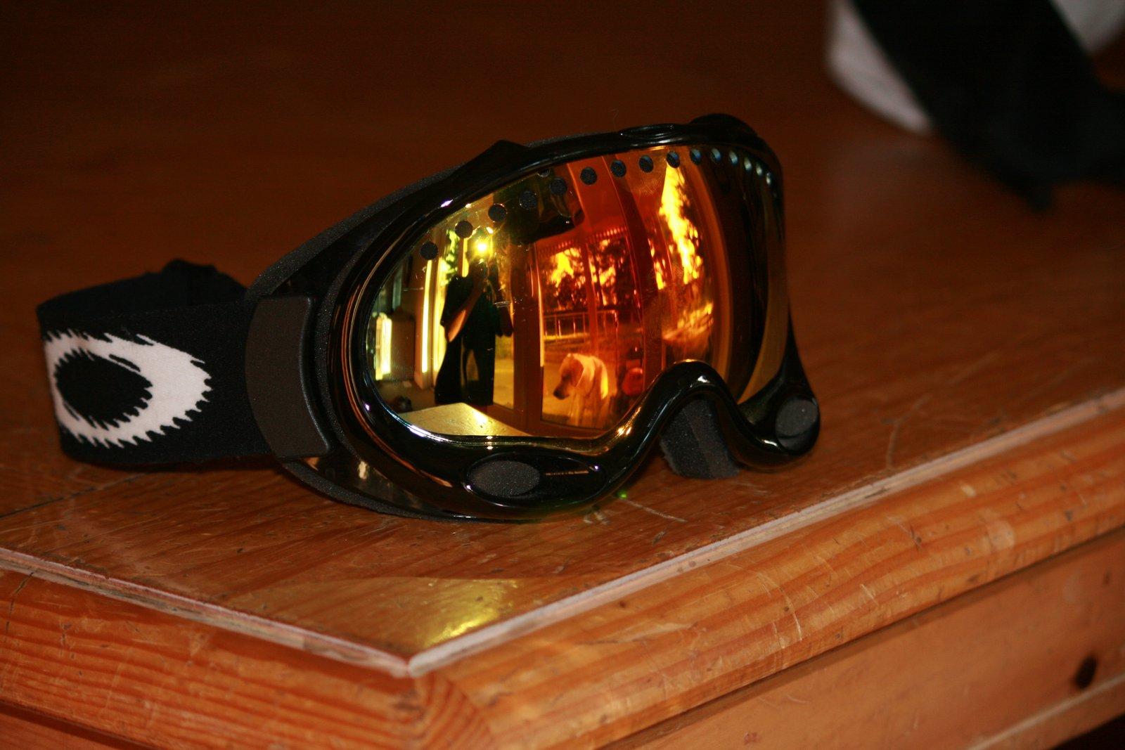 Oakley a frame fire lens