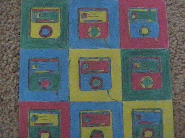 Warhol iPod nano