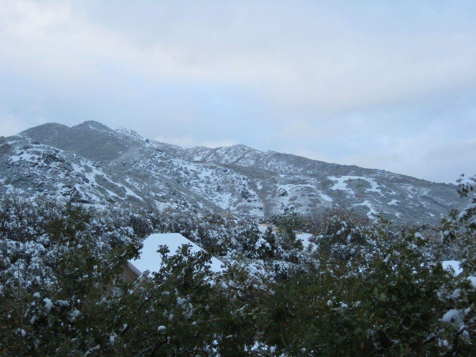 Mountain directly above my house.