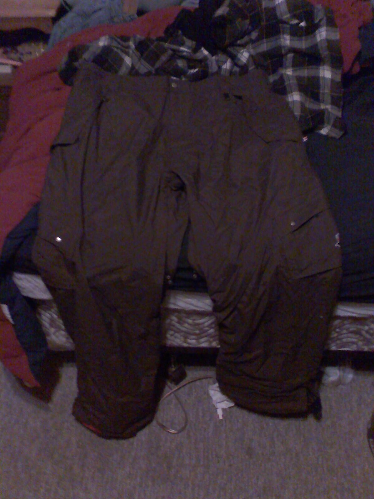 Mint section pants